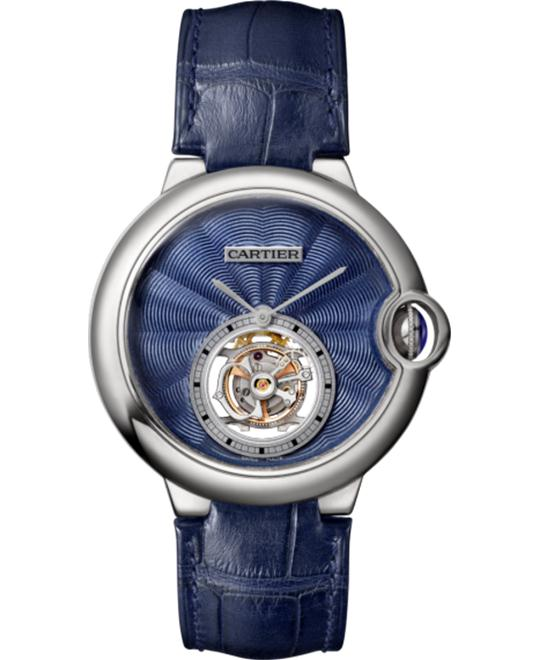 CARTIER W6920105 BALLON BLEU DE FLYING TOURBILLON 39MM