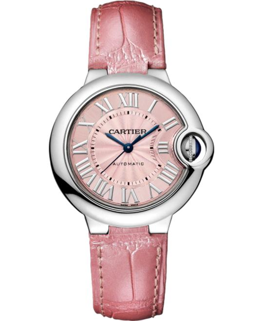 CARTIER WSBB0002 BALLON BLEU DE WATCH 33MM