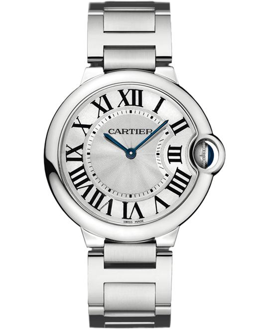 Cartier Ballon Bleu De Cartier W69011Z4 Watch 36mm