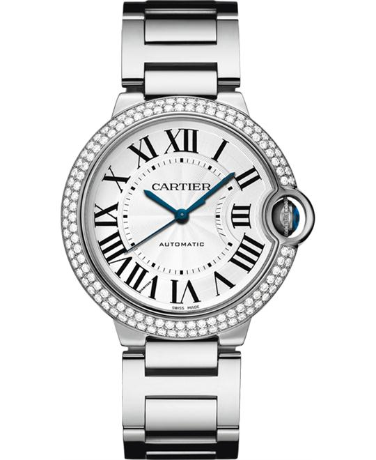 Cartier Ballon Bleu De Cartier WE9006Z3 Watch 36