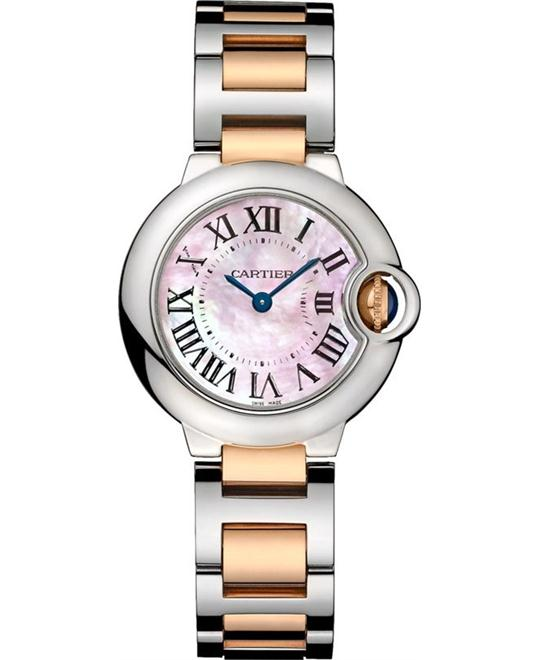 Cartier Ballon Bleu W2BB0009 Ladies Watch 28mm