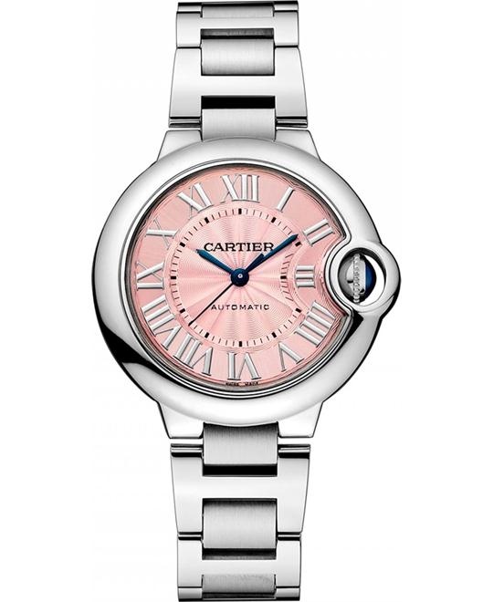Cartier Ballon Bleu De Cartier w6920100 Auto Watch 33mm