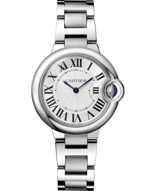 Cartier Ballon Bleu W6920084 De Cartier Watch 33mm