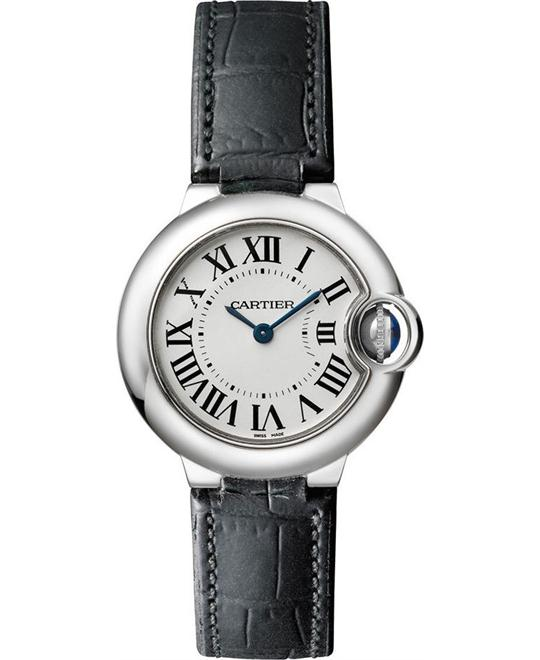 Cartier Ballon Bleu De Cartier w69018z4 Watch 28mm
