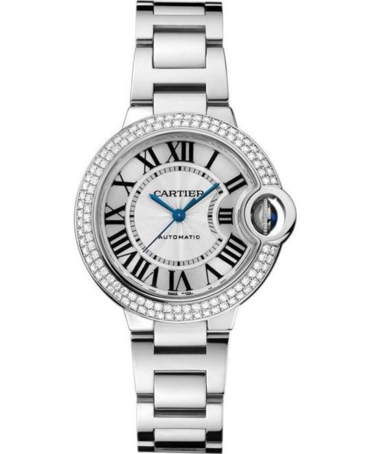 Cartier Ballon Bleu De Cartier we902035 18k Watch 33