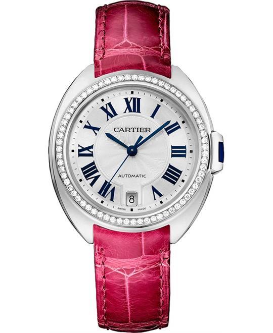dong ho nu Cartier Cle De WJCL0015 Automatic Watch 31mm