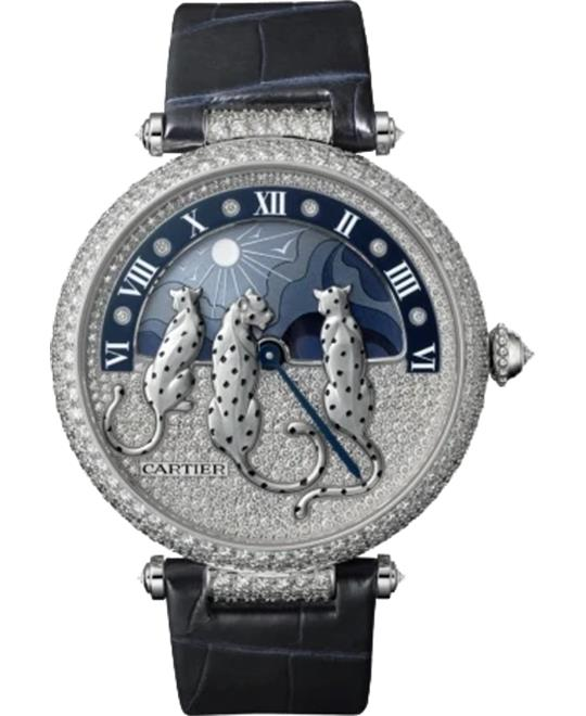 Cartier Reeves De Panthères HPI00930 Watch 42.75