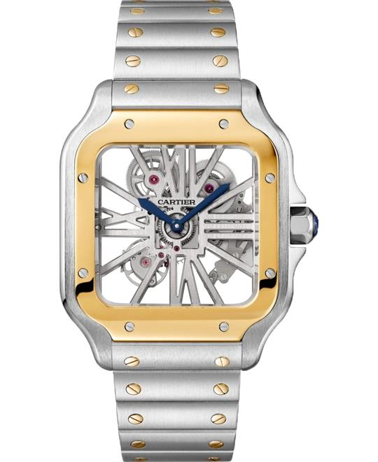 Cartier Santos De Cartier WHSA0012 Watch 39.8