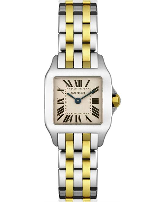 Cartier Santos Demoiselle W25066Z6 Watch 21.65mm X 28.25mm