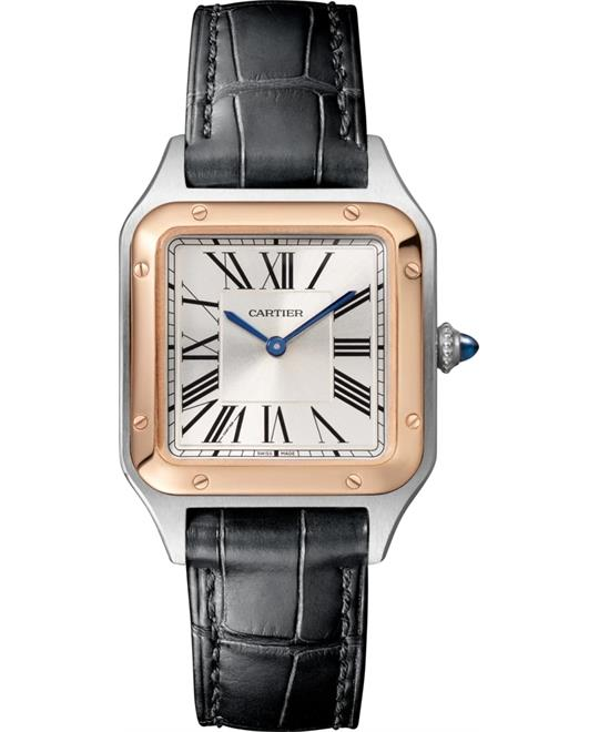 Cartier Santos Dumont W2SA0012 Watch 27.5mm X 38mm