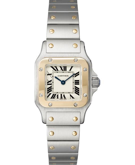 đồng hồ Cartier Santos W20012C4 Galbee Watch 26.2X34.8mm