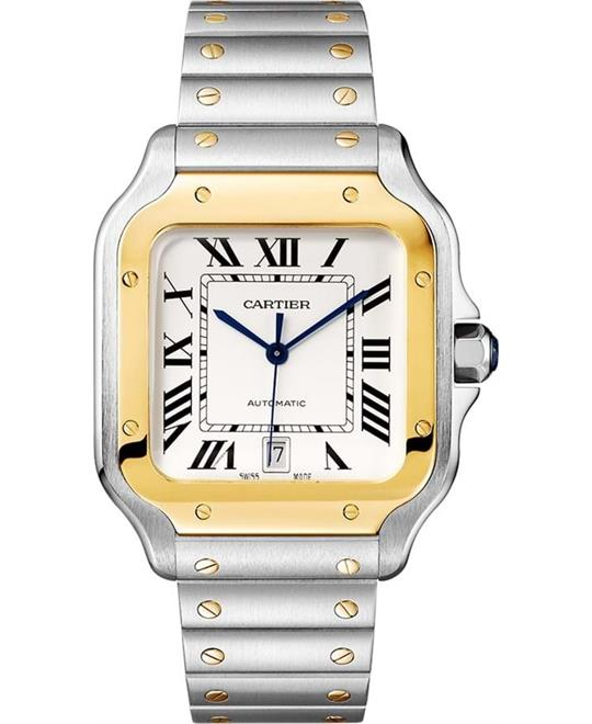 Cartier Santos W2SA0009 De Watch 39.8mm