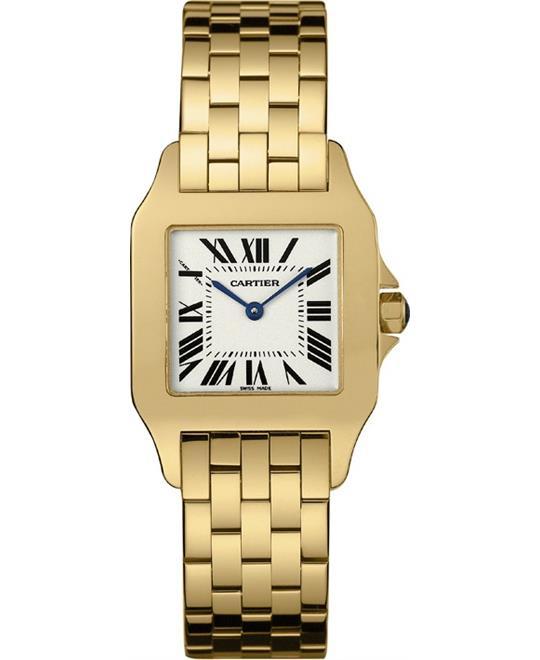 đồng hồ Cartier W25062X9 Santos Demoiselle Watch 36.75 X 28.2mm