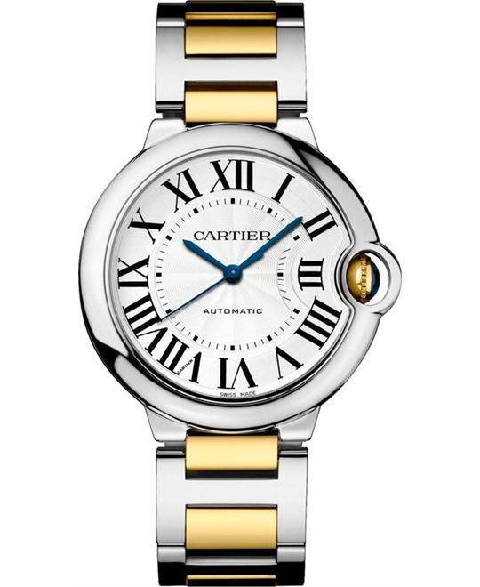 Cartier Ballon Bleu De Cartier W2BB0012 Gold Watch 36