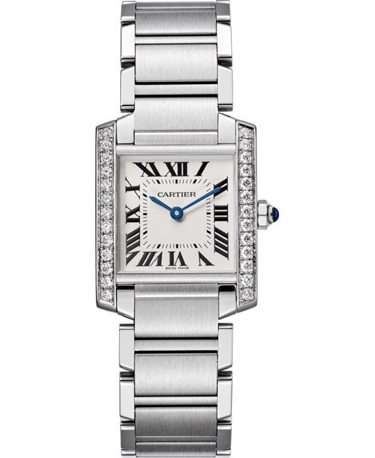 đồng hồ Cartier W4TA0009 Tank Française Watch 30.40x25.05mm.