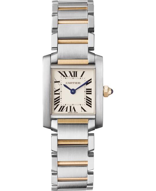 đồng hồ Cartier W51007Q4 Tank Française Watch 25.35x20.3mm