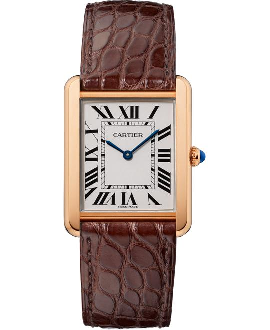 đồng hồ Cartier W5200025 Tank Solo Watch 34.8x27.4mm