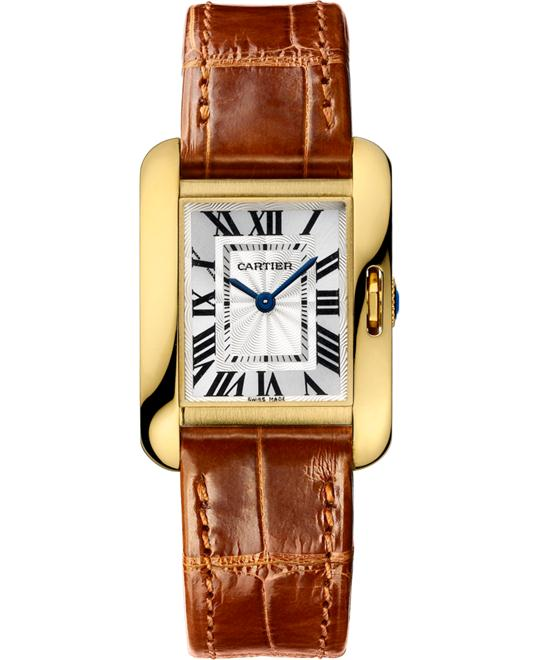 CARTIER W5310028 Tank Anglaise Watch 22.7 *30.2mm