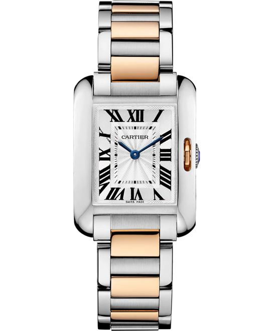 đồng hồ Cartier W5310036 Tank Anglaise Watch 30.2x22.7mm