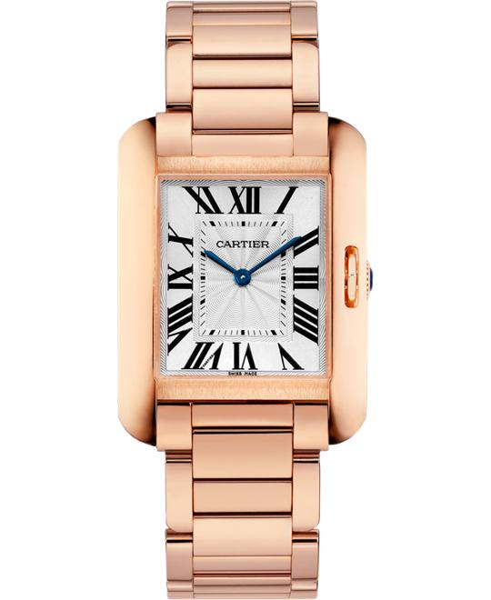 đồng hồ Cartier W5310041 Tank Anglaise Watch 34.7x26.2mm