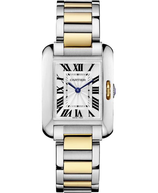 Cartier W5310046 Tank Anglaise Watch 30.2 x 22.7 mm