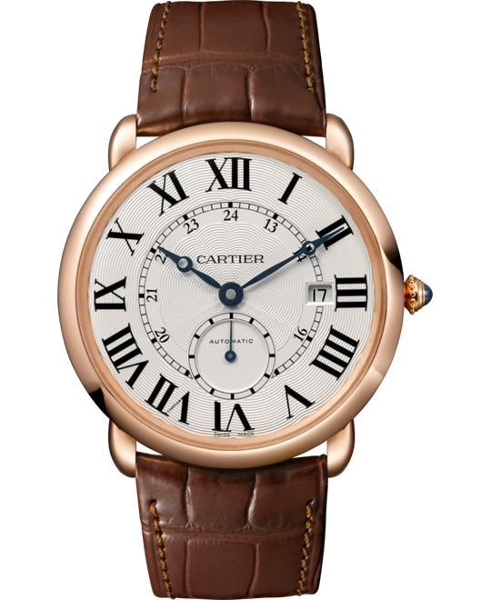 Cartier Ronde De Cartier W6801005 Pink Gold Watch 40
