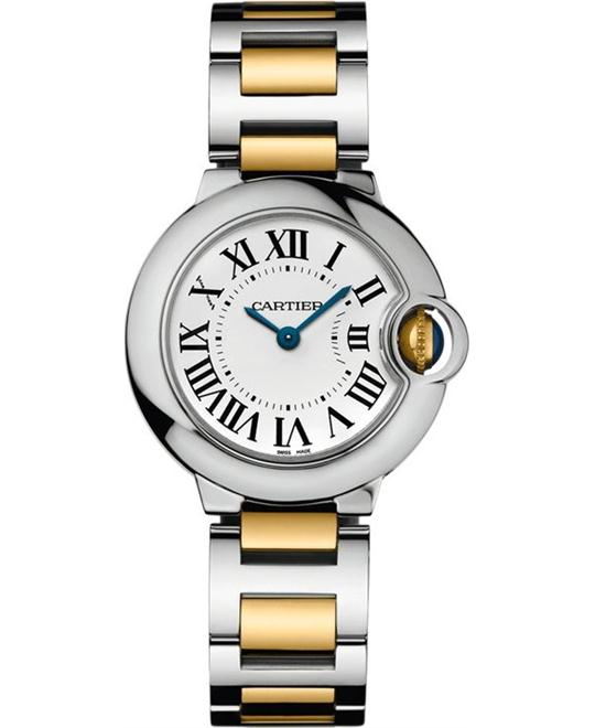 Cartier Ballon Bleu De Cartier W69007Z3 Watch 28.2