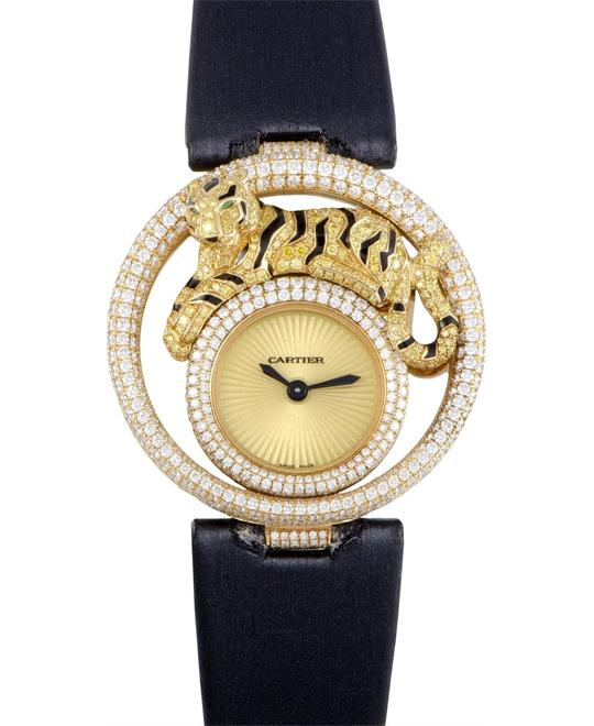 Cartier Le Cirque Animalier De Cartier Tigre Watch WS000250 40