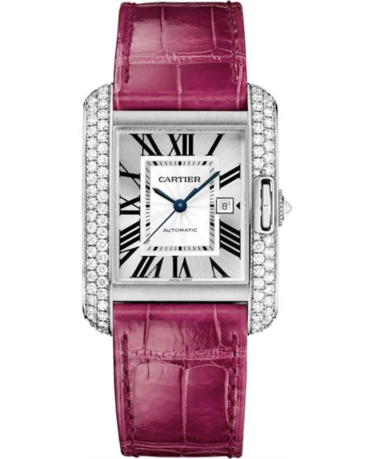 Cartier Tank Anglaise WT100018 Automatic 39.2X29.8 mm