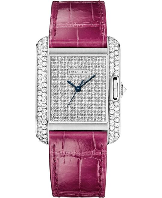 CARTIER WT100020 Tank Anglaise 18 Carat Diamonds 39.2*29.8mm