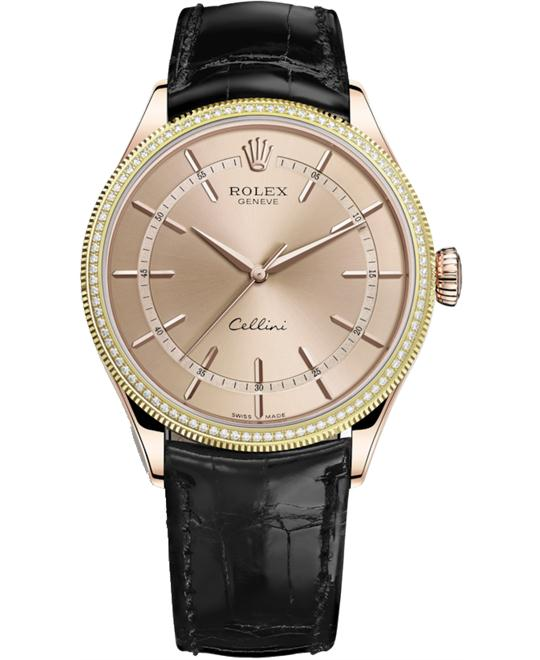 CELLINI 50605RBR-0011 TIME 18CT EVEROSE 39MM