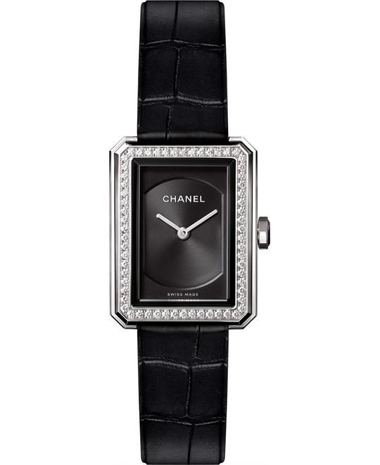 Chanel Boy-Friend H4883 Guilloché Watch 27.9 x 21.5mm