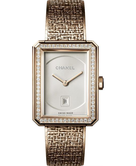 Chanel Boy-Friend H5315 Opaline Dial Diamond