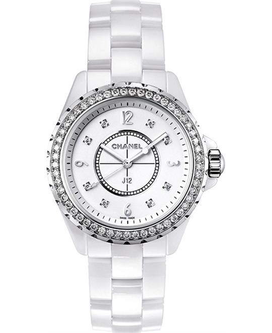 Chanel J12 H3110 Unisex Ceramic Watch 33