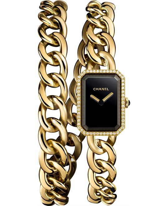 Chanel Premiere h3750 Yellow Gold Watch16 x 22