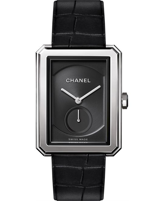 Chanel Boy-Friend H5319 Black Dial Ladies Watch 37 x 28.6