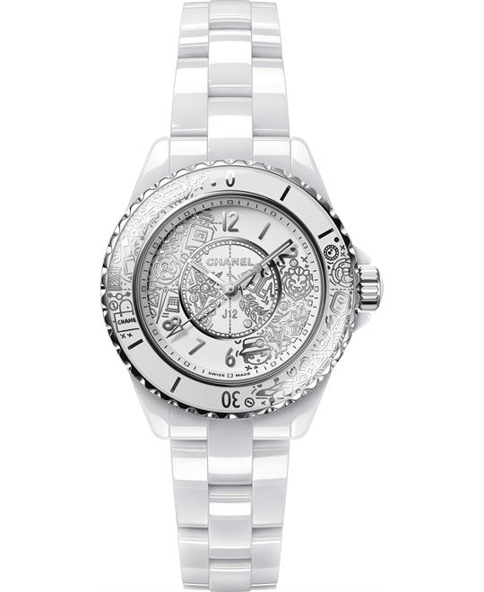 Chanel J12·20 H6477 White Ceramic Limited 33mm