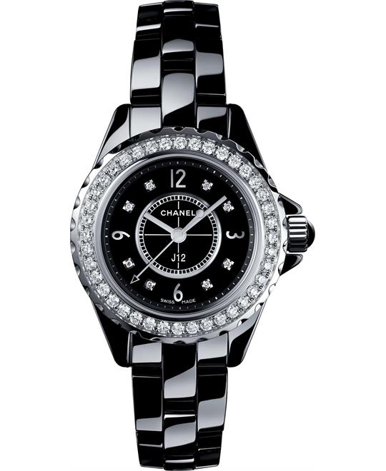Chanel J12 H2571 Diamonds Watch 29mm