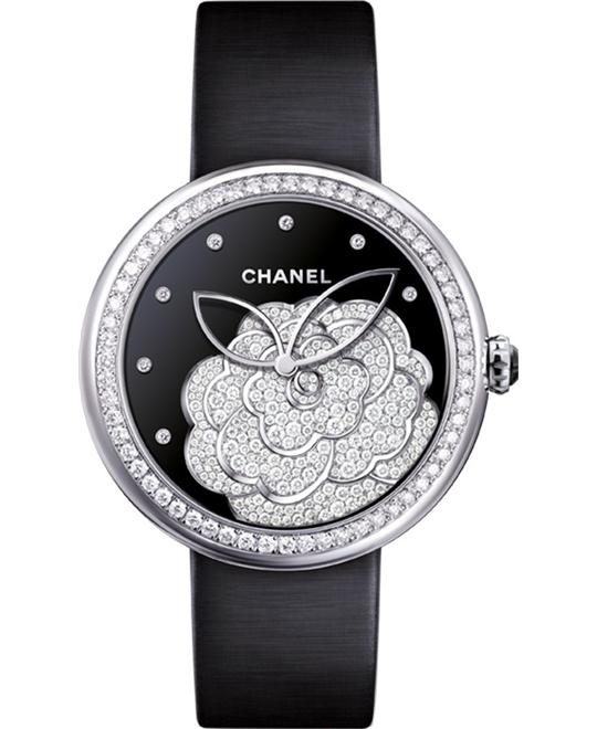 Chanel Mademoiselle Privé H4318 Watch 37.5