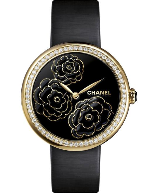 Chanel Mademoiselle Privé H3567 Watch 37.5