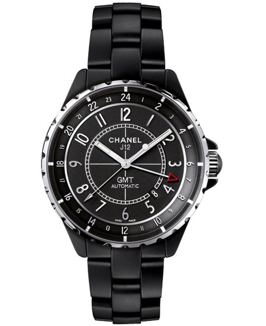 Chanel h3101 Mens Automatic Ceramic Black Sapphire 41mm
