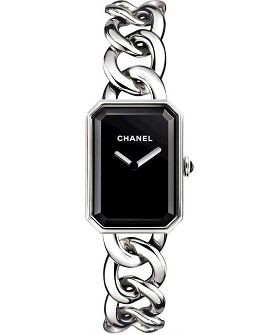 Chanel Premiere H3250 Black Dial Ladies Watch 28 x 20