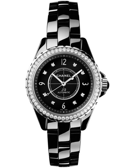 Chanel h3109 Unisex Ceramic Automatic Sapphire 38mm