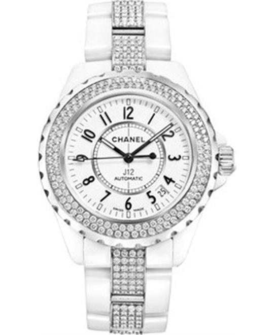 Chanel J12 H1422 Unisex Ceramic White Automatic 38