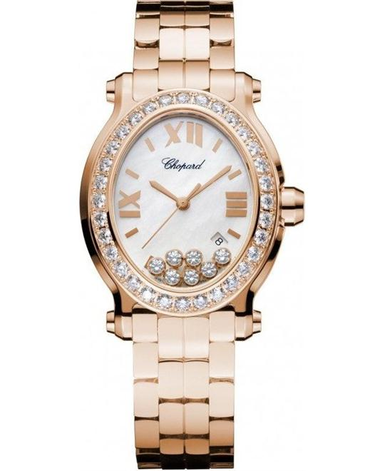 Chopard Happy Sport 275350-5004 Oval Watch 30mmX33.5mm