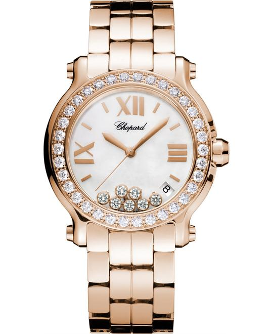 Chopard 277481-5002 Happy Sport Ladies Watch 36mm