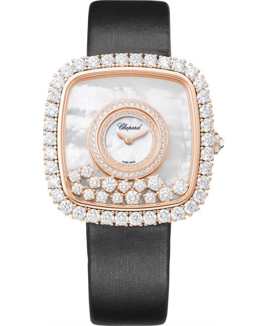 DONG HO NU Chopard HAPPY DIAMONDS 204368-5001 18K LIMITED 37.85x37.85