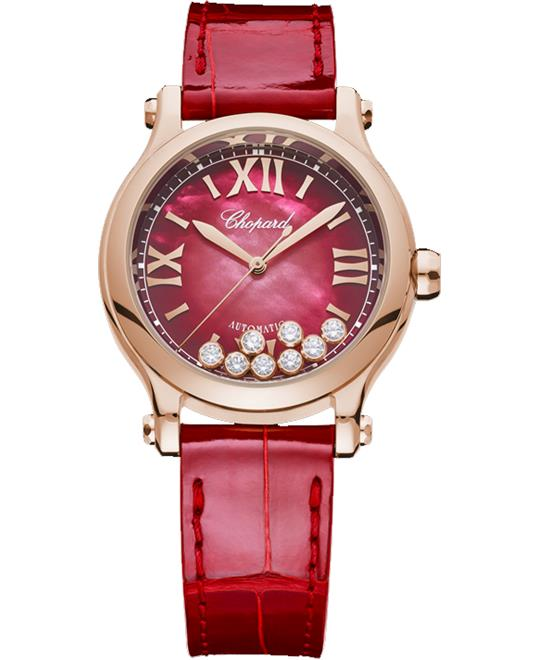 đồng hồ nữ Chopard Happy Sport 275378-5005 18K Watch 33mm