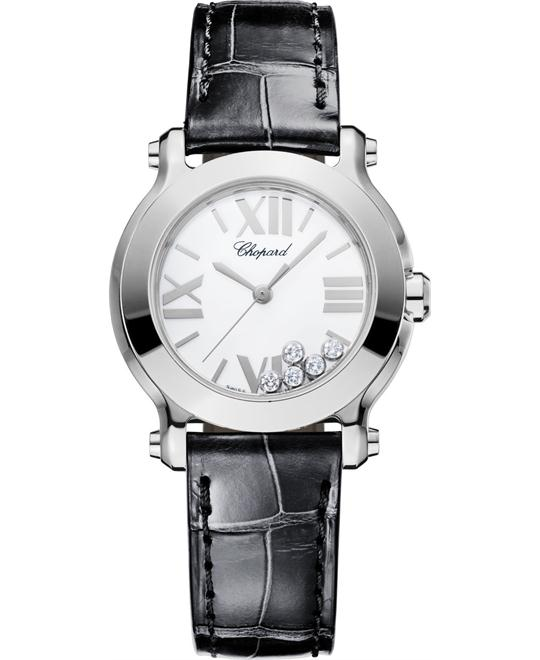 Chopard 278509-3001 Happy Sport Ii Round Diamond 30mm