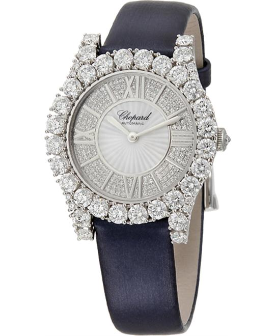CHOPARD 139419-1001 Heure du Diamant Diamond Watch 36mm